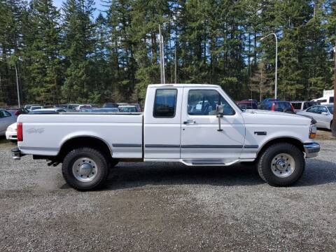 1997 Ford F-250 for sale at WILSON MOTORS in Spanaway WA