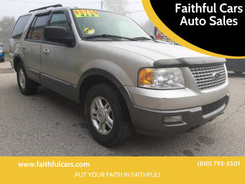 2006 Ford Expedition for sale at Faithful Cars Auto Sales in North Branch MI