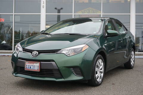 2016 Toyota Corolla for sale at West Coast Auto Works in Edmonds WA
