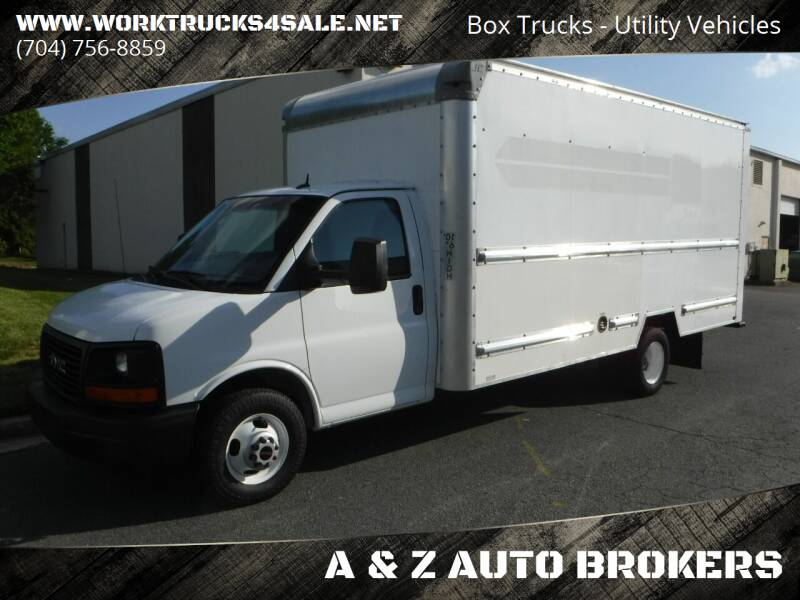 2015 GMC Savana Cutaway for sale at A & Z AUTO BROKERS in Charlotte NC