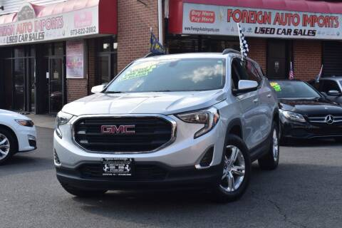 2018 GMC Terrain for sale at Foreign Auto Imports in Irvington NJ