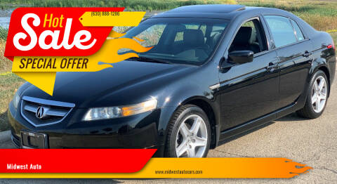 2004 Acura TL for sale at Midwest Auto in Naperville IL