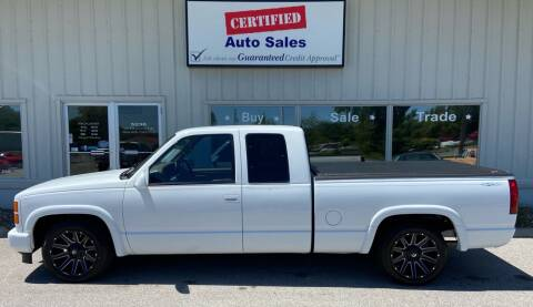 1995 Chevrolet C/K 1500 Series for sale at Certified Auto Sales in Des Moines IA