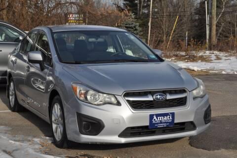 2012 Subaru Impreza for sale at Amati Auto Group in Hooksett NH