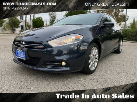 2013 Dodge Dart for sale at Trade In Auto Sales in Van Nuys CA