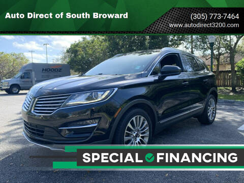 2017 Lincoln MKC for sale at Auto Direct of South Broward in Miramar FL