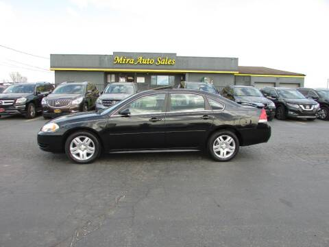 2013 Chevrolet Impala for sale at MIRA AUTO SALES in Cincinnati OH