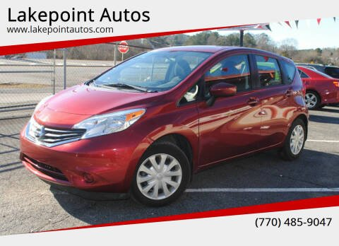 2016 Nissan Versa Note for sale at Lakepoint Autos in Cartersville GA