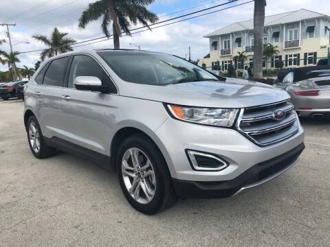 2018 Ford Edge for sale at DELRAY AUTO MALL in Delray Beach FL