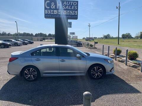 2019 Subaru Legacy for sale at C & H AUTO SALES WITH RICARDO ZAMORA in Daleville AL