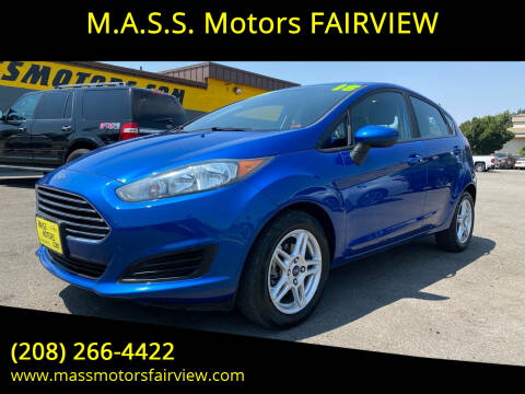 2018 Ford Fiesta for sale at M.A.S.S. Motors - Fairview in Boise ID