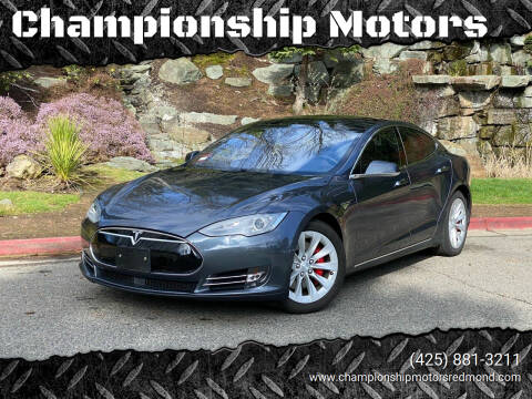 2014 Tesla Model S for sale at Championship Motors in Redmond WA