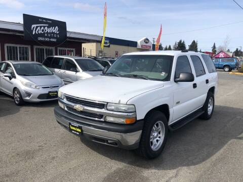 2003 Chevrolet Tahoe for sale at Tacoma Autos LLC in Tacoma WA