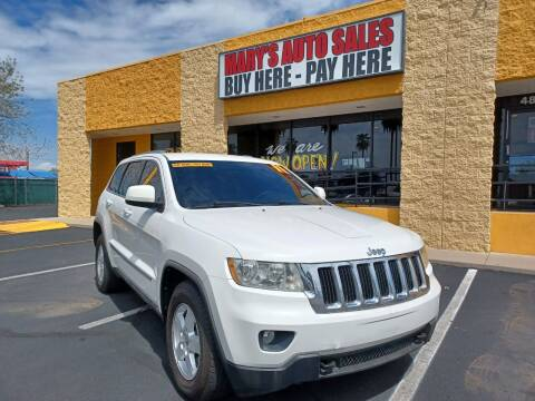 2011 Jeep Grand Cherokee for sale at Marys Auto Sales in Phoenix AZ