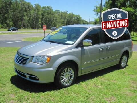 2015 Chrysler Town and Country for sale at HOGSTEN AUTO WHOLESALE in Ocala FL