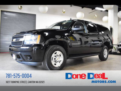 2011 Chevrolet Suburban for sale at DONE DEAL MOTORS in Canton MA