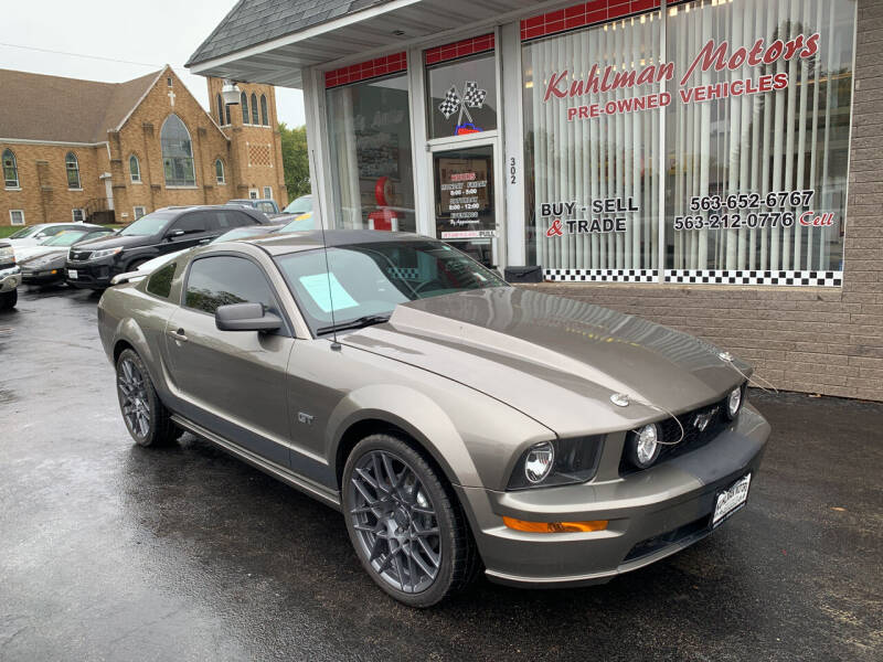 2005 Ford Mustang for sale at KUHLMAN MOTORS in Maquoketa IA