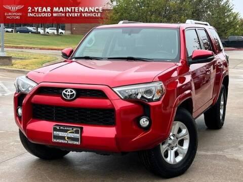 2017 Toyota 4Runner for sale at European Motors Inc in Plano TX