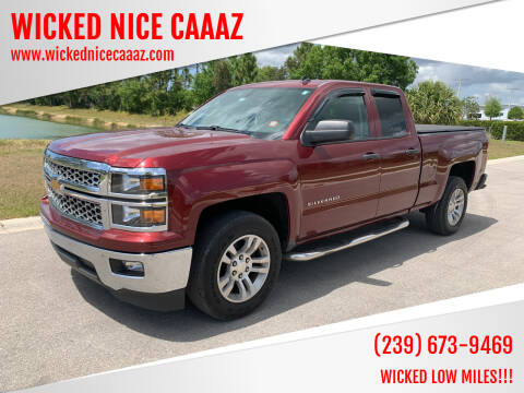 2014 Chevrolet Silverado 1500 for sale at WICKED NICE CAAAZ in Cape Coral FL