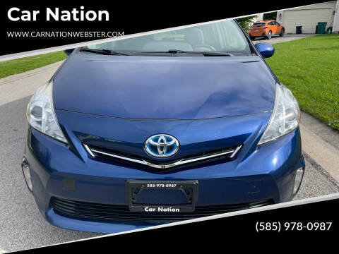 2014 Toyota Prius v for sale at Car Nation in Webster NY