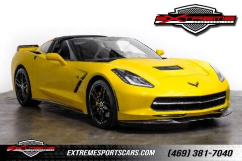 2015 Chevrolet Corvette for sale at EXTREME SPORTCARS INC in Carrollton TX