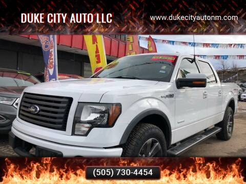 2012 Ford F-150 for sale at Duke City Auto LLC in Gallup NM