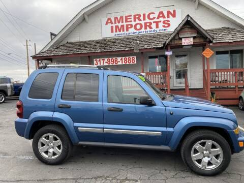 2005 Jeep Liberty for sale at American Imports INC in Indianapolis IN