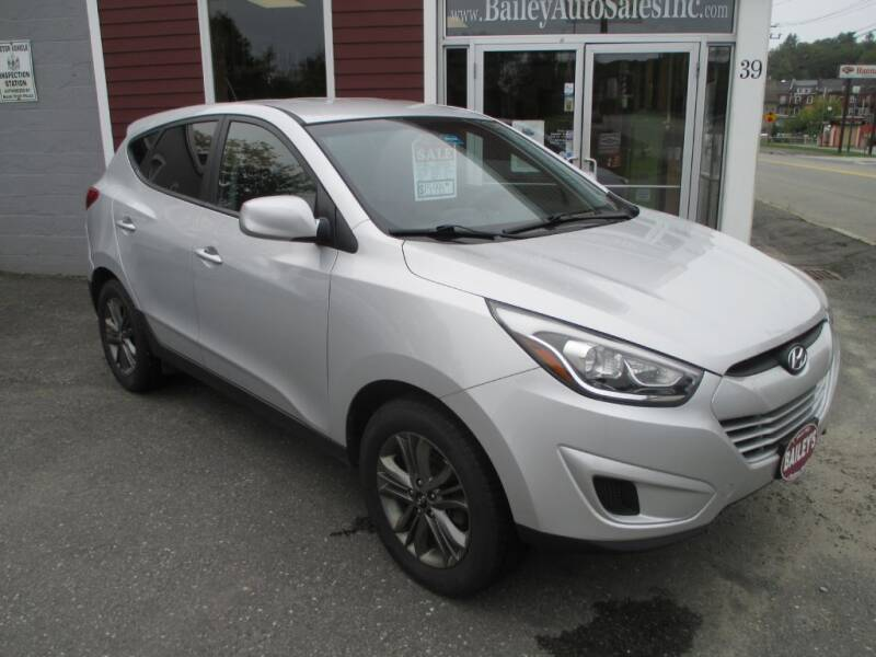 2015 Hyundai Tucson for sale at Percy Bailey Auto Sales Inc in Gardiner ME