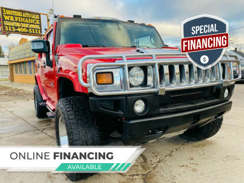 2007 HUMMER H2 for sale at 3 Brothers Auto Sales Inc in Detroit MI