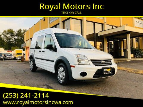 2012 Ford Transit Connect for sale at Royal Motors Inc in Kent WA