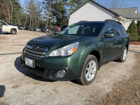 2014 Subaru Outback for sale at Williston Economy Motors in Williston VT