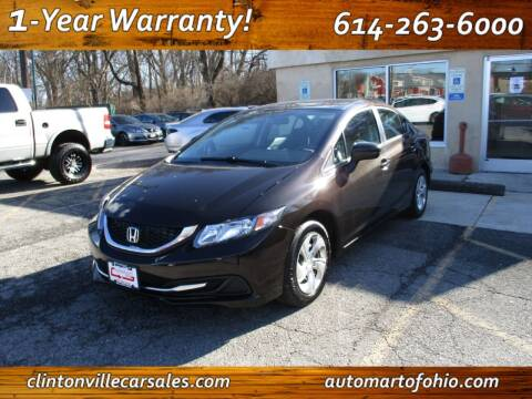 2014 Honda Civic for sale at Clintonville Car Sales - AutoMart of Ohio in Columbus OH