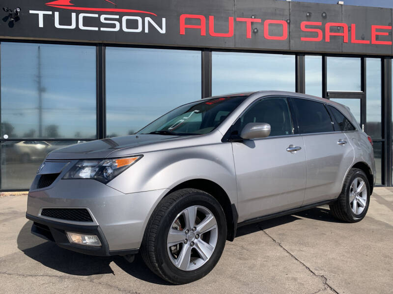 2011 Acura MDX for sale at Tucson Auto Sales in Tucson AZ