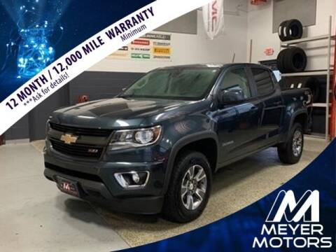 2019 Chevrolet Colorado for sale at Meyer Motors in Plymouth WI