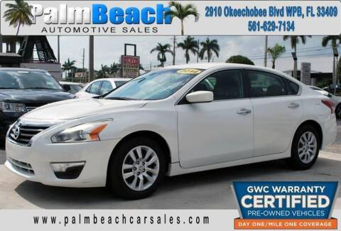 2014 Nissan Altima for sale at Palm Beach Automotive Sales in West Palm Beach FL