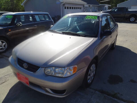 2001 Toyota Corolla for sale at John's Auto Sales in Council Bluffs IA