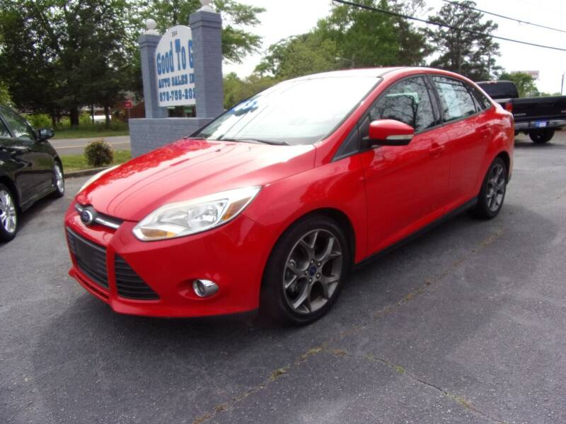 2013 Ford Focus for sale at Good To Go Auto Sales in Mcdonough GA