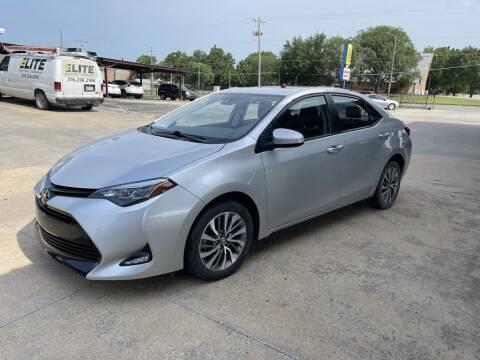 2019 Toyota Corolla for sale at Kansas Auto Sales in Wichita KS