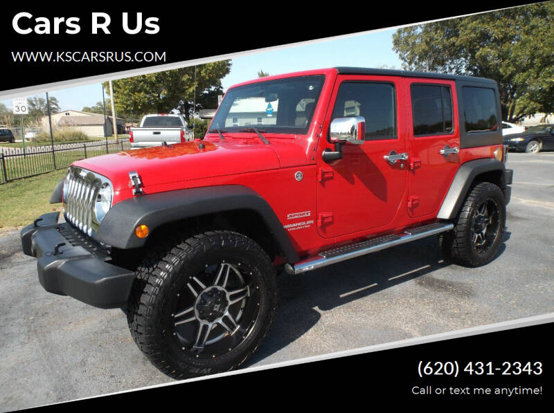 2011 Jeep Wrangler Unlimited for sale at Cars R Us in Chanute KS