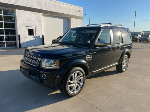 2014 Land Rover LR4 for sale at EUROPEAN AUTOHAUS in Holland MI