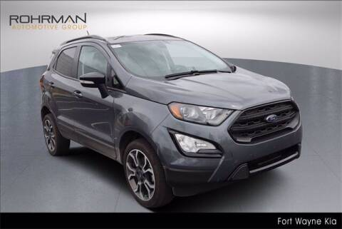 2020 Ford EcoSport for sale at BOB ROHRMAN FORT WAYNE TOYOTA in Fort Wayne IN