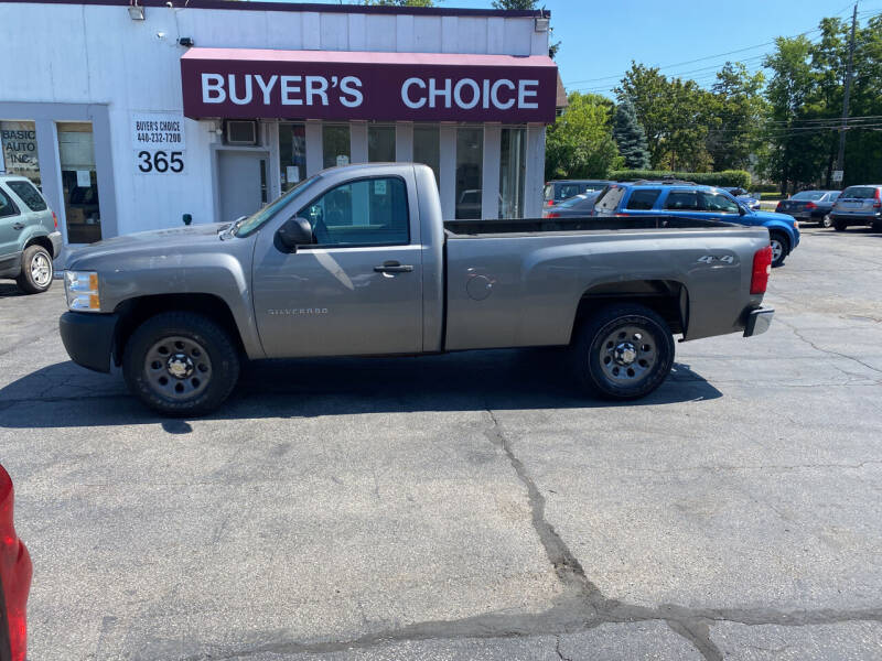 2012 Chevrolet Silverado 1500 for sale at Buyers Choice Auto Sales in Bedford OH