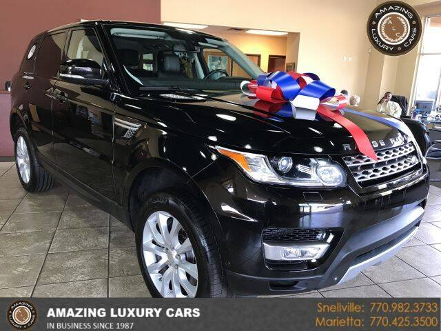 2014 Land Rover Range Rover Sport for sale at Amazing Luxury Cars in Snellville GA