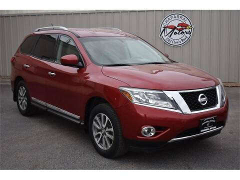 2013 Nissan Pathfinder for sale at Chaparral Motors in Lubbock TX