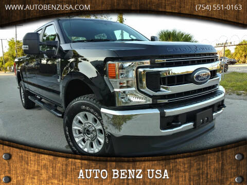 2020 Ford F-250 Super Duty for sale at AUTO BENZ USA in Fort Lauderdale FL