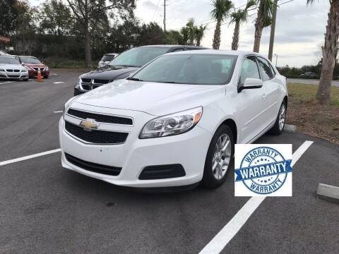 2013 Chevrolet Malibu for sale at Gulf Financial Solutions Inc DBA GFS Autos in Panama City Beach FL