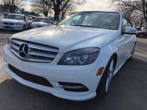 2011 Mercedes-Benz C-Class for sale at Atlantic Auto Sales in Garner NC