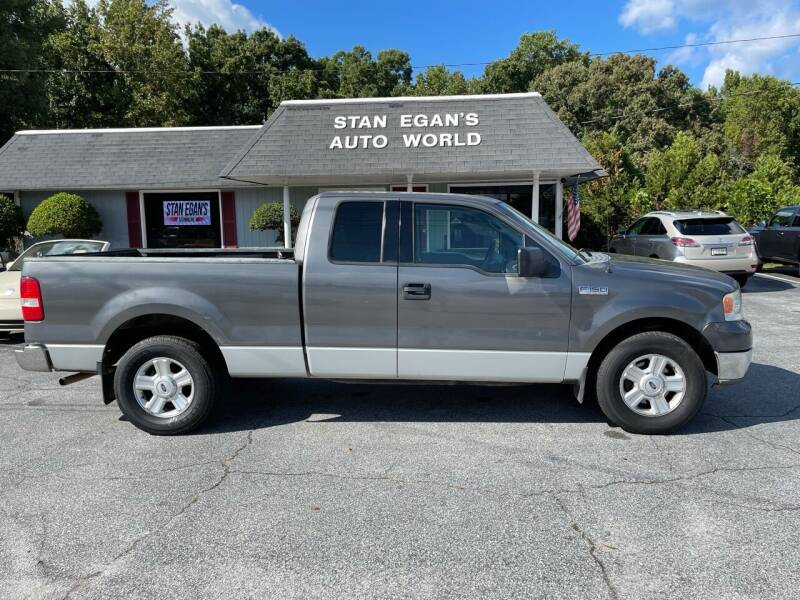 2004 Ford F-150 for sale at STAN EGAN'S AUTO WORLD, INC. in Greer SC