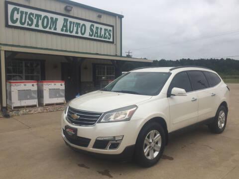2014 Chevrolet Traverse for sale at Custom Auto Sales - AUTOS in Longview TX