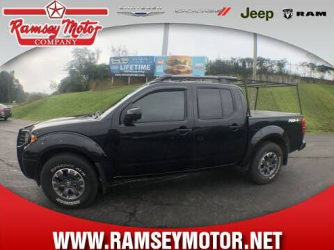 2019 Nissan Frontier for sale at RAMSEY MOTOR CO in Harrison AR